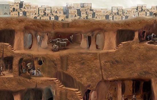 Древний подземный город был найден в центральной Турции