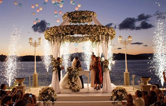 Отели и известные достопримечательности в Турции стали предпочтительным местом для свадеб иностранцев
